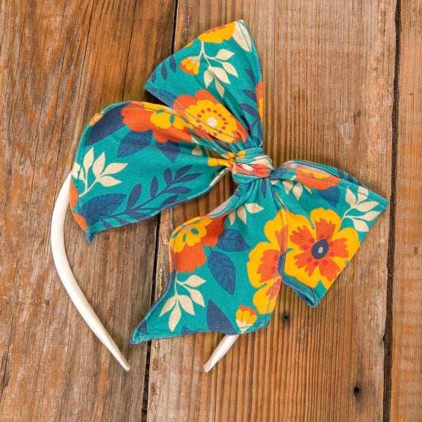 Thanksgiving Day Parade Bea Floral Headband