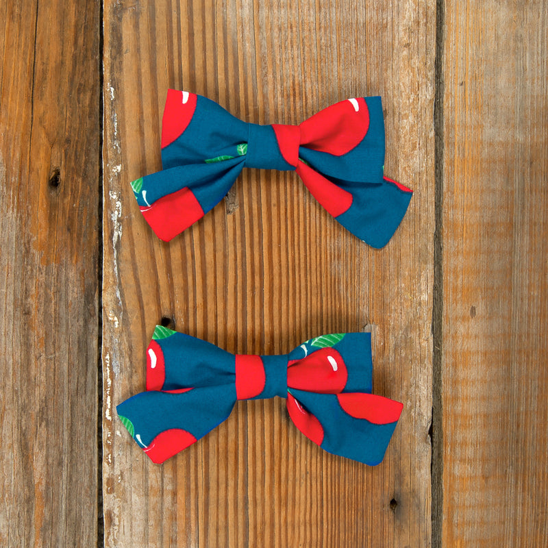 Schoolyard Fun Mindy Apple Bows