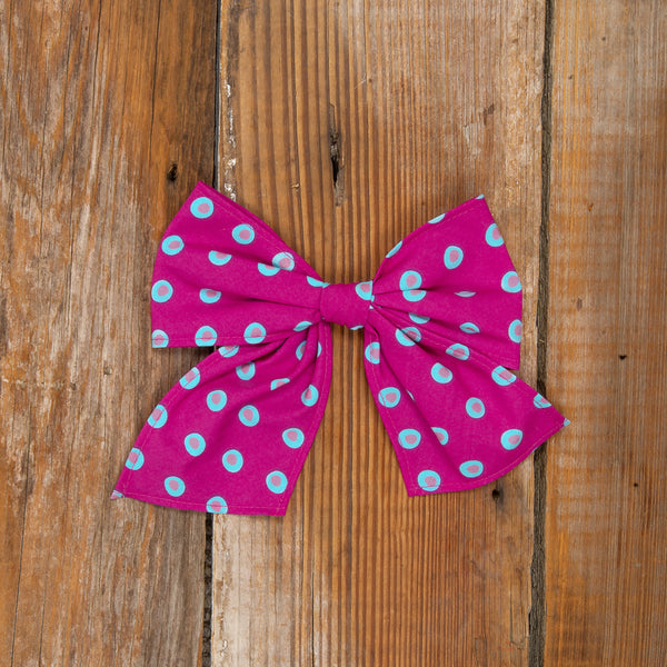 Fall Days Surprise Sonni Whimsy Dot Bow
