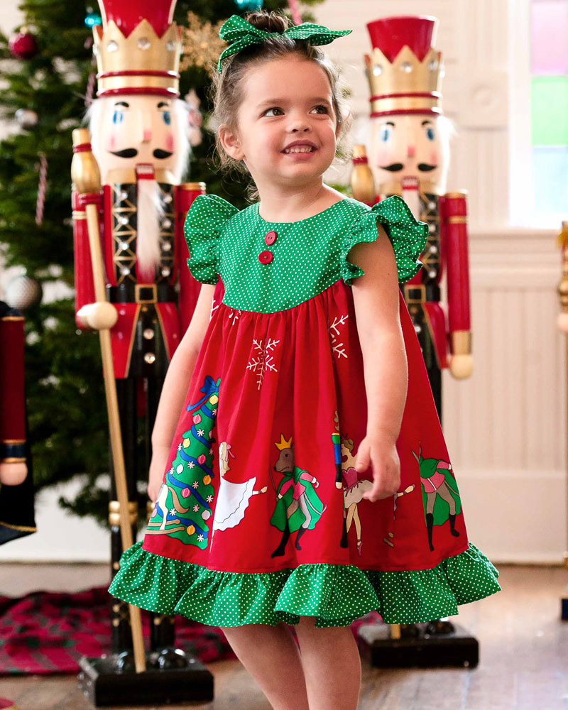 Nutcracker Gigi Red Dress