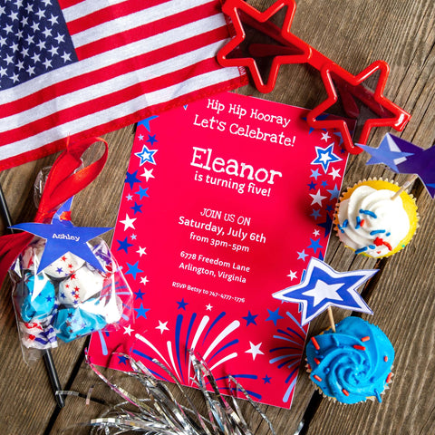 Star-Spangled Pre-Order Party Printable Package