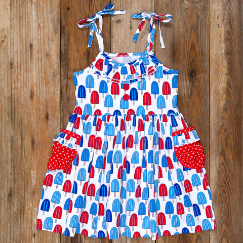 American Celebration Surprise Judy All Knit Popsicle Dress