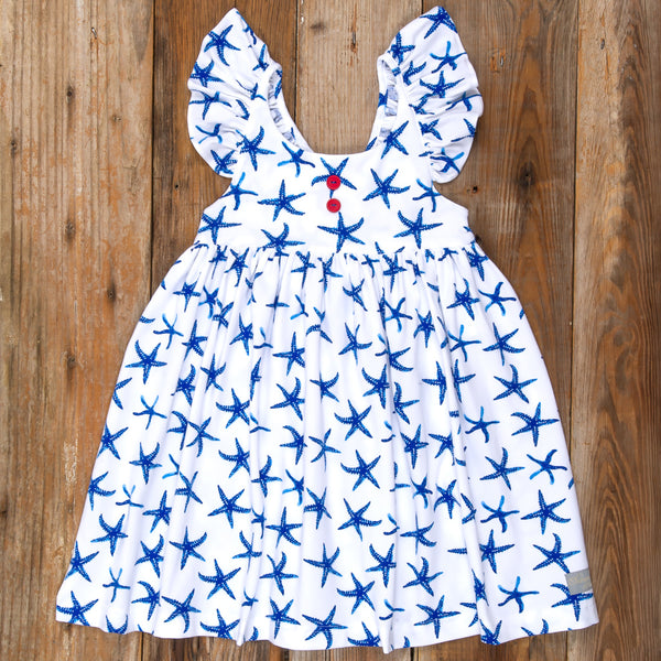 American Celebration Surprise Serena All Knit Starfish Dress