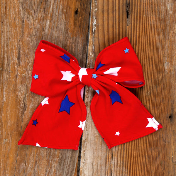 American Celebration Surprise Sonni Red Star Bow