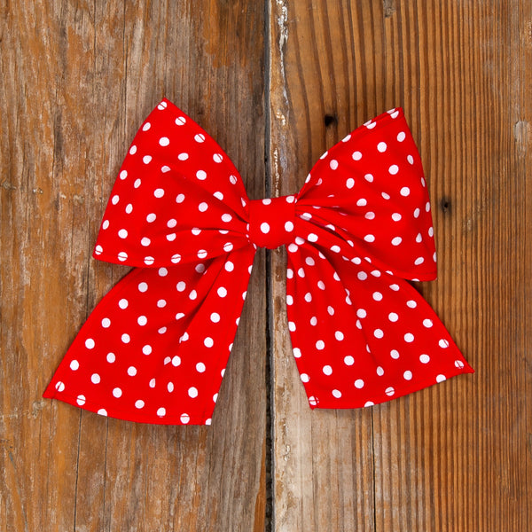 American Celebration Surprise Sonni Red Dot Bow