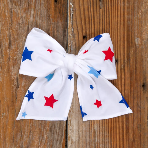 American Celebration Surprise Sonni White Stars Bow