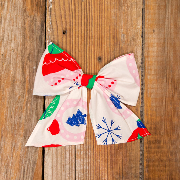 Christmas Countdown Sonni Ornaments Bow