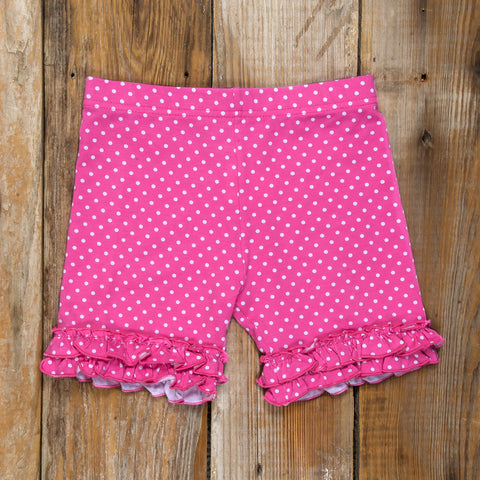Ice Cream Party Brailey Ruffle Knit Shorts