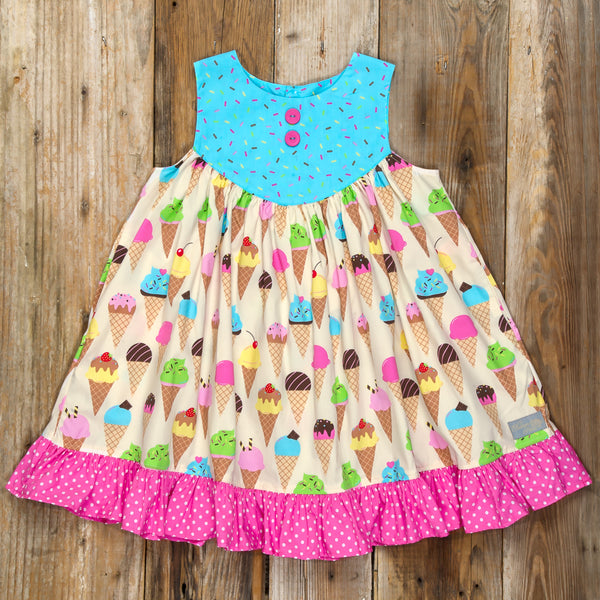 Ice Cream Party Gigi Dress
