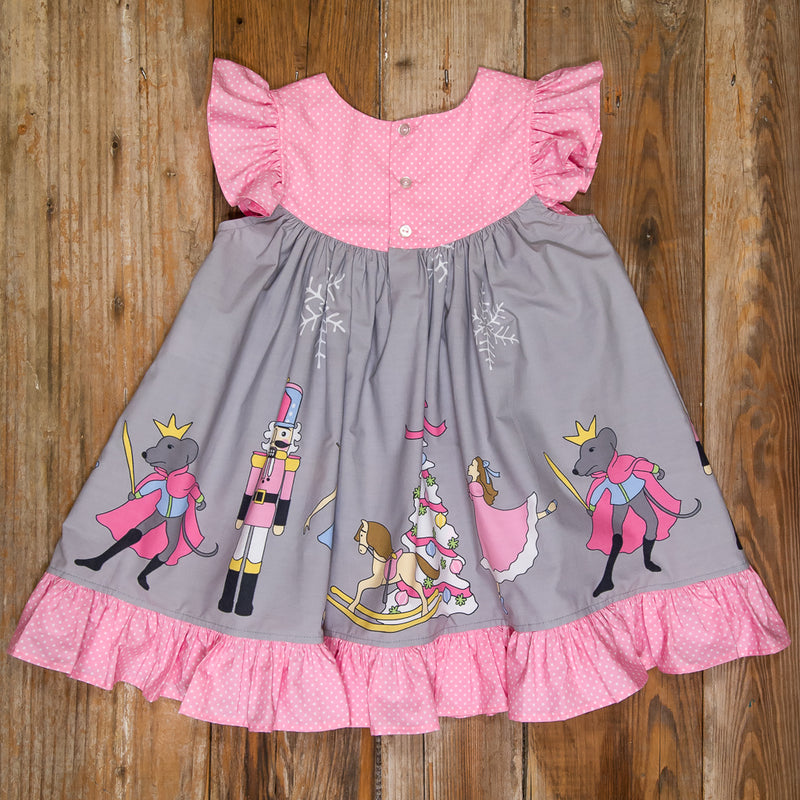 Nutcracker Gigi Grey Dress