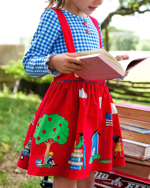 Bookworm Suspender Skirt