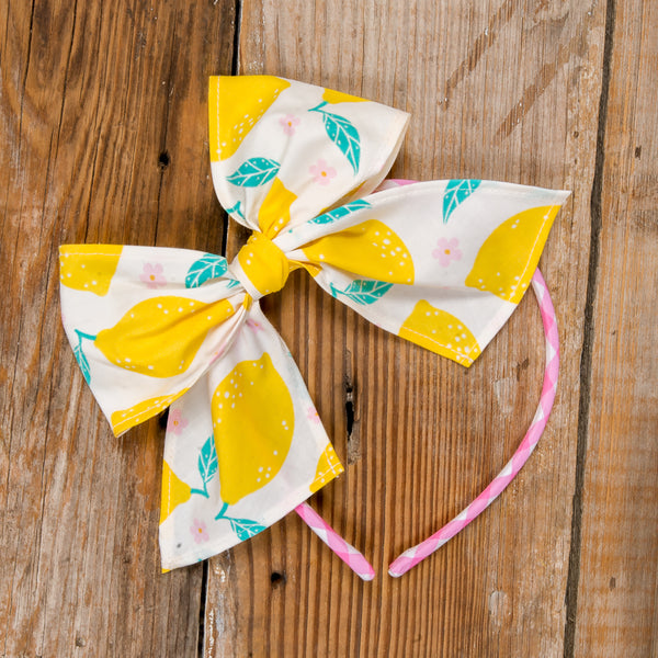 Playful Surprise Bea Lemon Headband