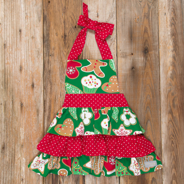 Christmas Treats Girls' Apron