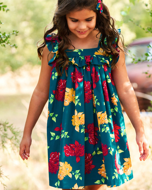 Autumn Rose Farrah Dress