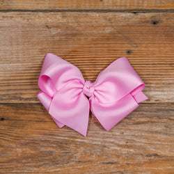 Easter Blooms Pink Medium Bow