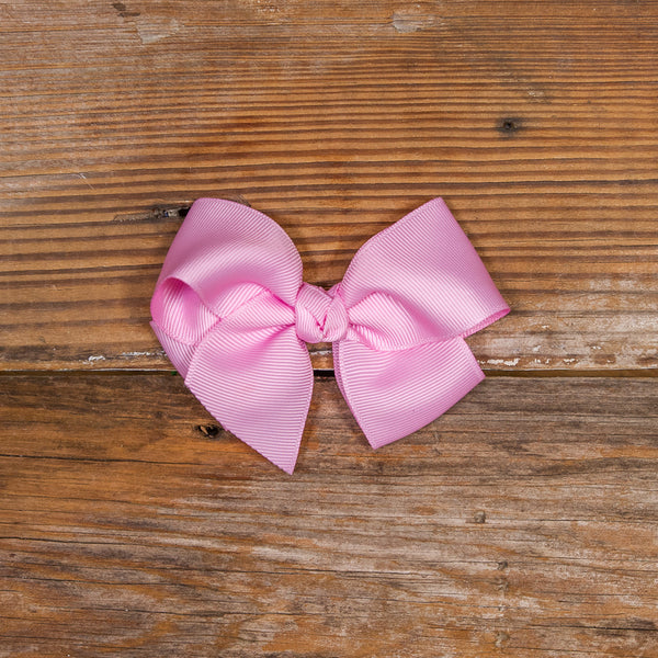 Easter Blooms Pink Small Bow