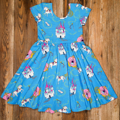 Happily Ever After Annie Blue Dress