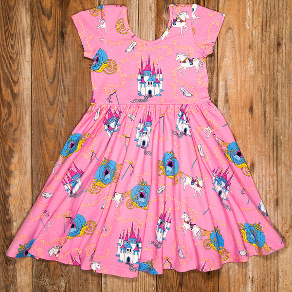 Happily Ever After Annie Pink Dress