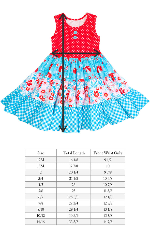 Ladybug Rhonda Tiered Dress