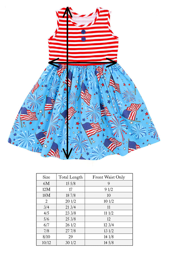 Grand Old Flag Rhonda Tank Dress