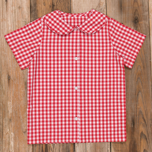 Schoolhouse Parade Esther Straight Sleeve Shirt