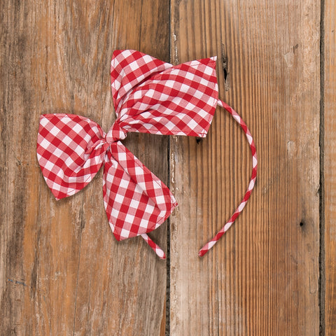 Schoolhouse Parade Bea Check Headband