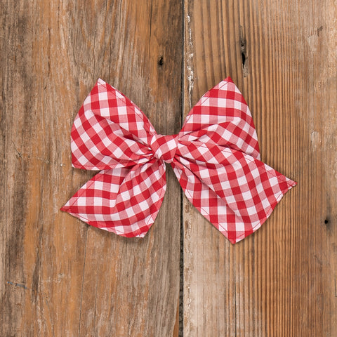 Schoolhouse Parade Sonni Check Bow