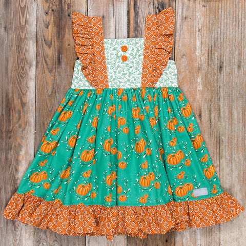 Pumpkin Harvest Suri Dress