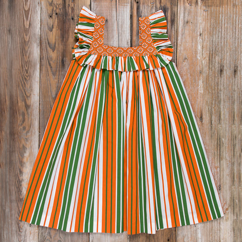 Pumpkin Harvest Farrah Dress