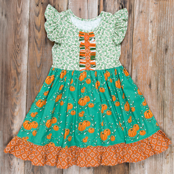 Pumpkin Harvest Rhonda Dress