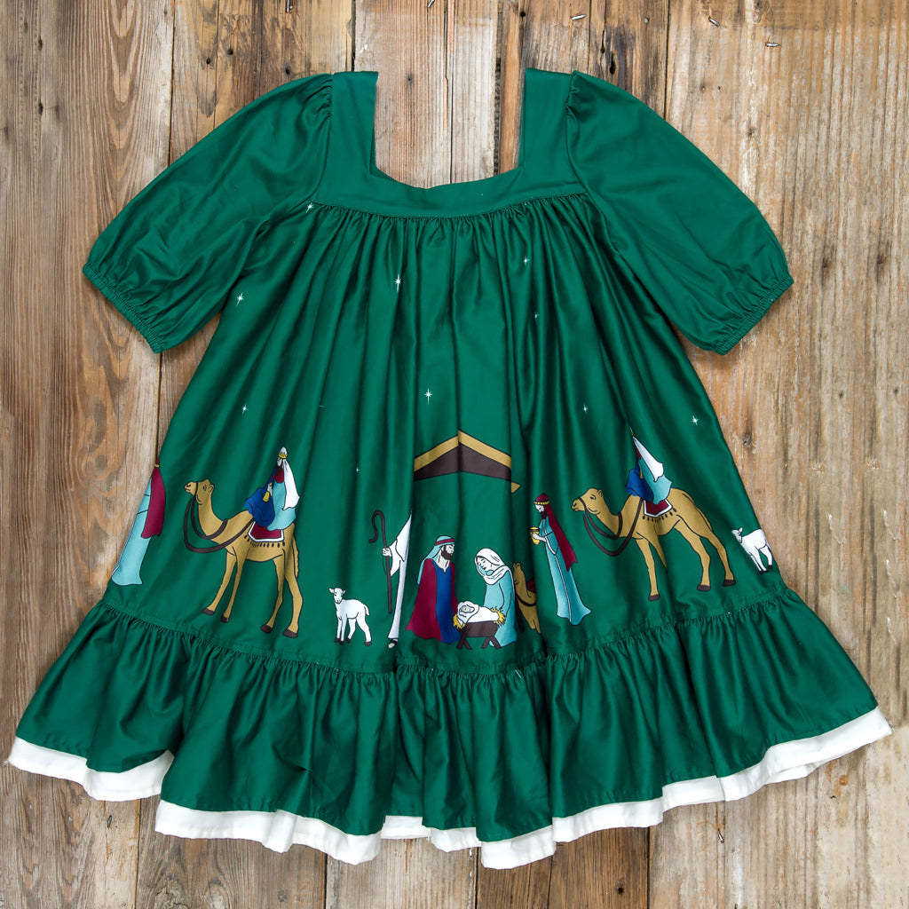 Silent Night Laurel Green Dress