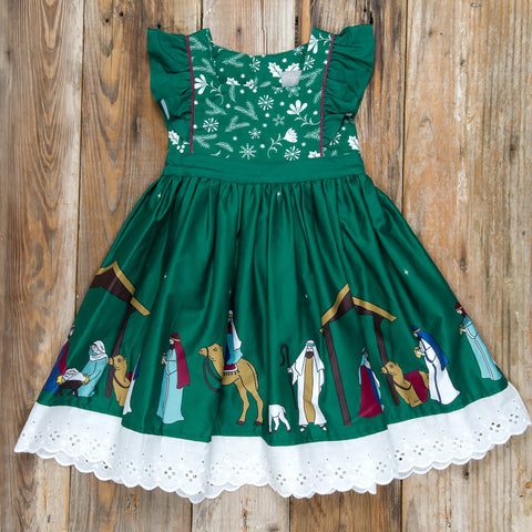 Silent Night Catalina Green Dress