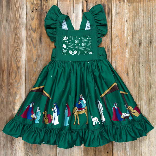 Silent Night Gracie Green Dress