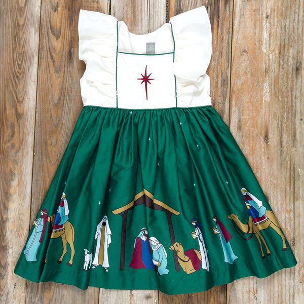 Silent Night Adalyn Green Dress