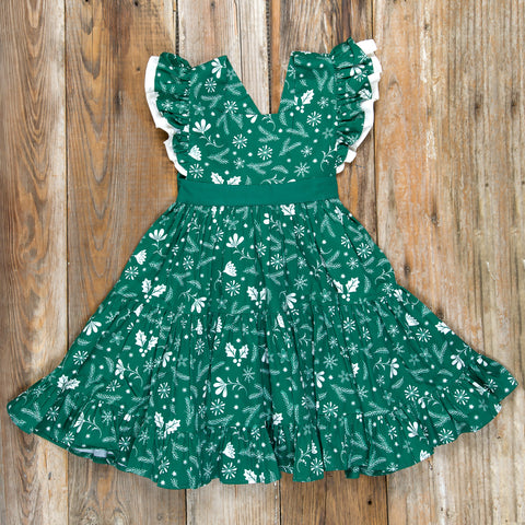 Silent Night Velma Green Dress
