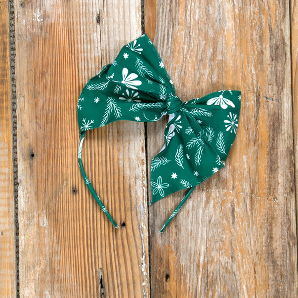 Silent Night Bea Green Headband