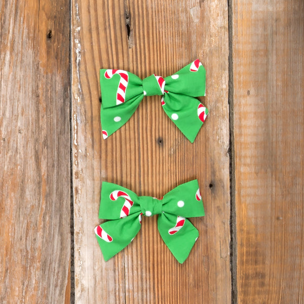 Christmas Treats Candy Cane Mindy Bows