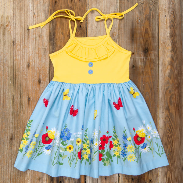 Spring Floral Surprise Judy Butterfly Dress