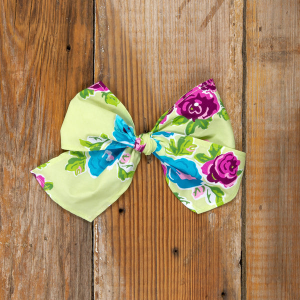 81e66290091 Spring Floral Surprise Sonni Posies Bow