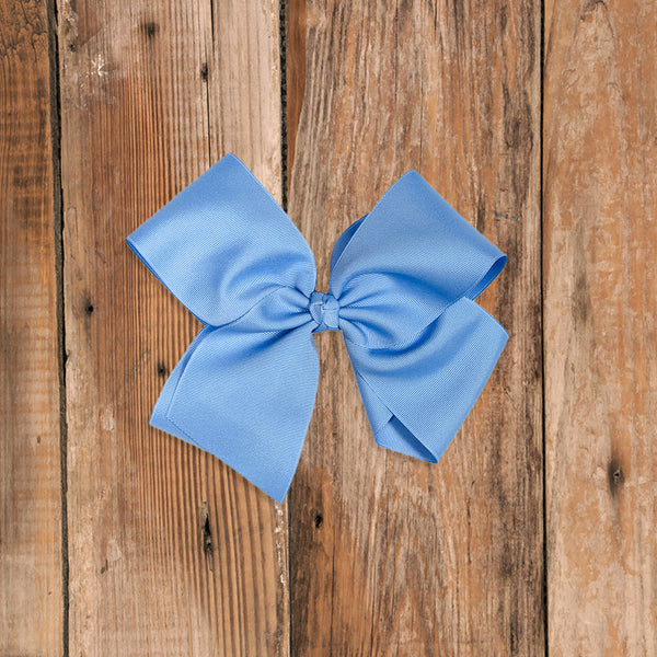 Happily Ever After Large Blue Classic Bow