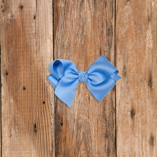 Happily Ever After Small Blue Classic Bow