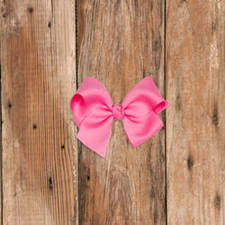 Small Pink Classic Bow