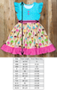 Ice Cream Party Rhonda Flutter Sleeve Dress