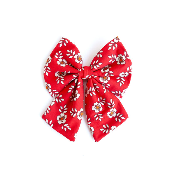 Floral Sonni Bow