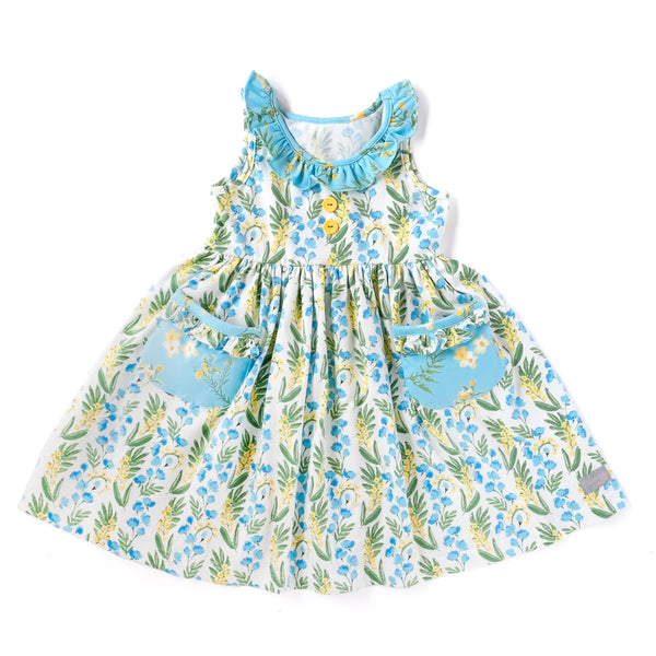 Spring Break Bluebell Heather Dress