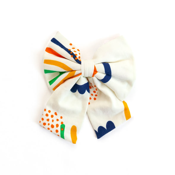 Cream Rainbow Sonni Bow