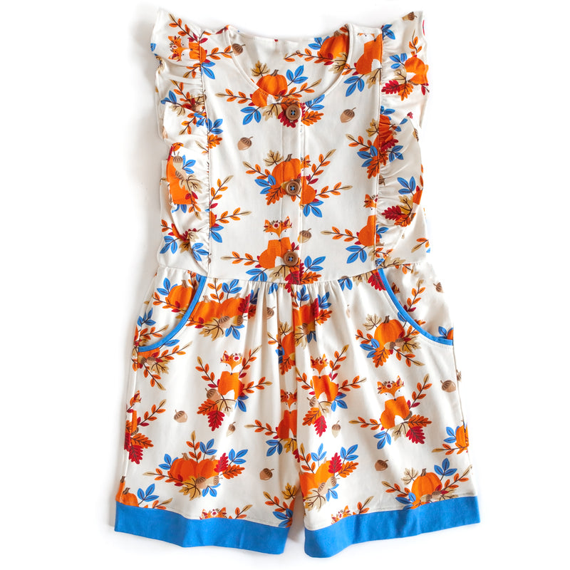 Grateful and Blessed Fox Romper