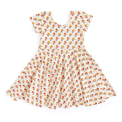 Annie Knit Ditsy Floral Dress