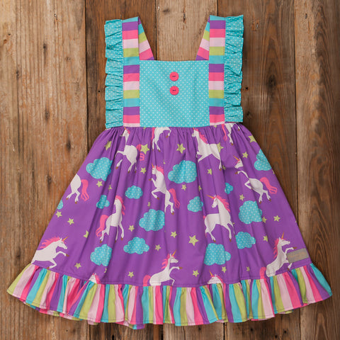 Unicorn Magic Amelia Dress