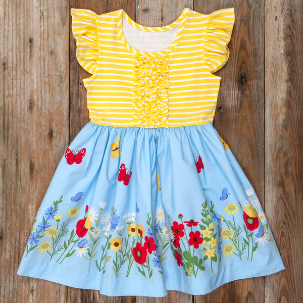 Butterfly Garden Rhonda Dress